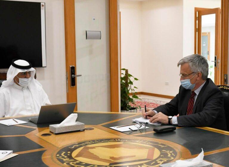 GCC official and Swedish envoy discuss developments in Yemen